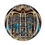 Time Traveler Go Casa Batllo Barcelona España 3D imán para nevera regalo recuerdo hogar cocina decoración magnética