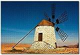 Nicoole.co España Fuerteventura Rompecabezas para adultos Niños 1000 piezas Juego de rompecabezas de madera para regalos Decoración del hogar Recuerdos especiales de viaje