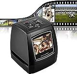DIGITNOW! Escáner de película para 35mm Negativos y Diapositivas, Escáner de Alta resolución con 2,4' LCD, Convertidor No se Requiere PC y Software