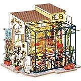 Rolife DIY Casas de Muñecas Miniaturas Madera para Montar Miniature House Maquetas para Construir Adultos Niñas y Niños 14 Años de Edad hasta, Emily's Flower Shop